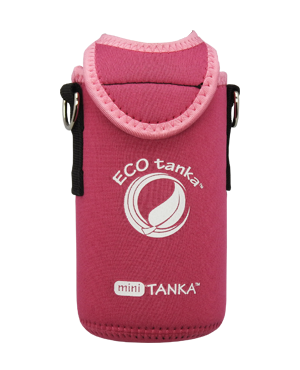 ECOtanka mini 600ml kooler cover Pink