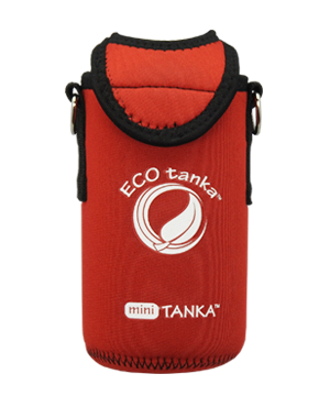 ECOtanka mini 600ml kooler cover RED