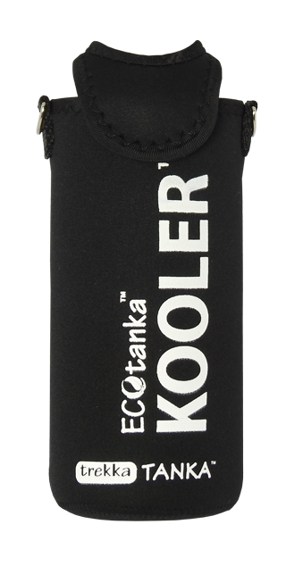 ECOtanka trekka 1000ml kooler cover Black