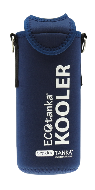 ECOtanka trekka 1000ml kooler cover Dark Blue